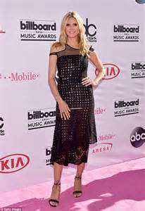 Dress Heidy billboard awards sees heidi klum sizzle in see