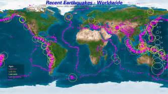 earthquake map of the world