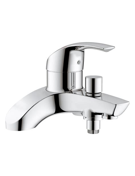 single lever bath shower mixer tap grohe eurosmart single lever deck mounted bath shower mixer tap