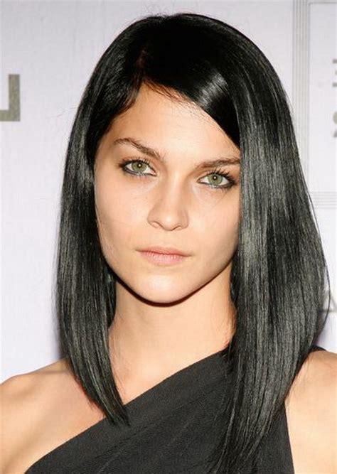 medium haircuts asymmetrical asymmetrical haircuts hair