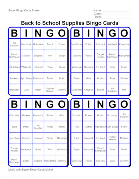 free bingo card template generator edubakery about bingo card maker