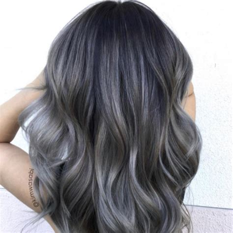 charcoal hair color popsugar