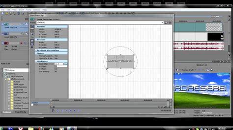 membuat watermark di sony vegas sony vegas pro 9 adding a watermark youtube