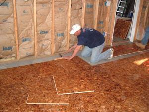Subfloors and Underlayments   Extreme How To