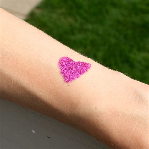 glitter tattoos la vie diy diy glitter kit great gift for