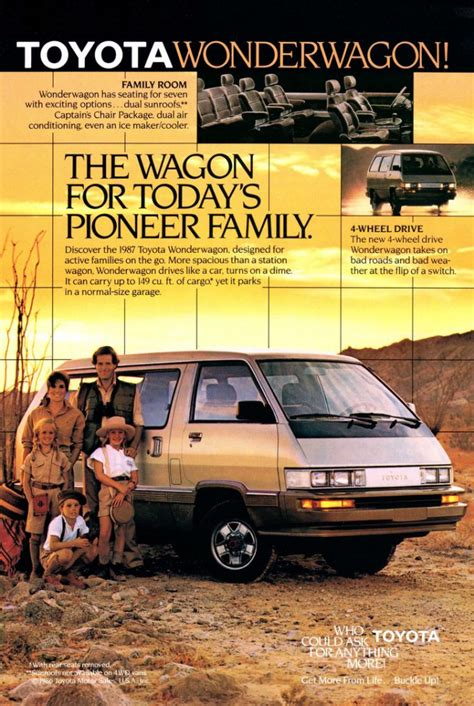 vintage toyota ad soccer mom madness 10 classic minivan ads the daily