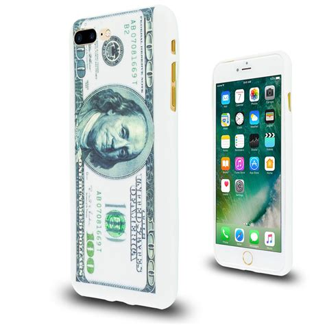 for iphone 7 plus 5 5 tpu silicone cover hundred dollar money