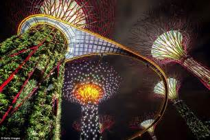 Display Lighting Singapore Puts Our Lights To Shame Mesmerising Forest Of