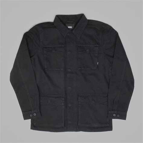 Jaket Vans Volka Skate Black vans skate x thrasher m65 jacket black vans jackets