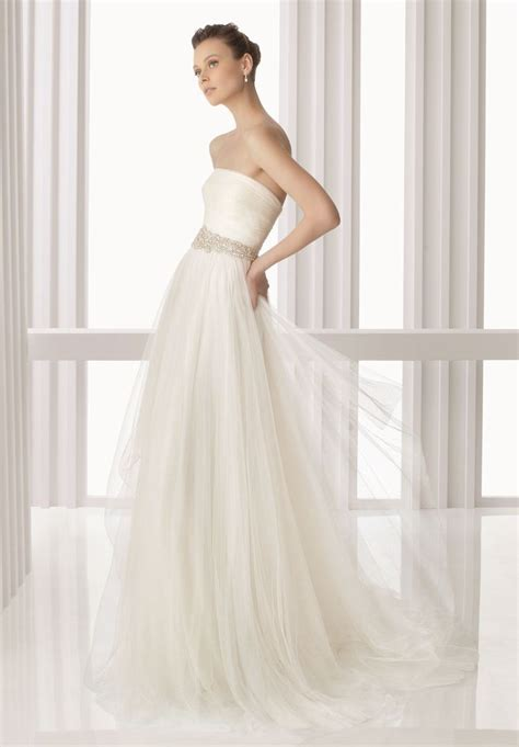einfache brautkleider ethereal tulle simple wedding dresses wedding decoration