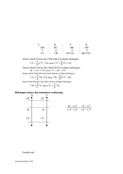 Termometer Skala 100 rpp fisika smk xi ganji