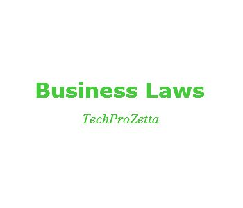 Business Legislation Mba by Business Laws Concept Ownership Mba Study Material
