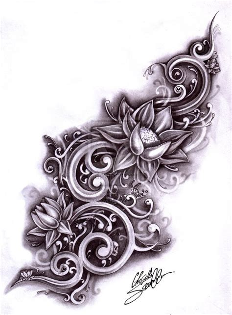 tattoos with water designs 15 best images about lower back on