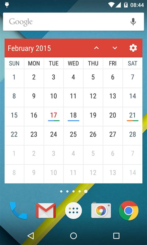 calendar widget android event flow calendar widget android apps on play