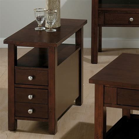 Ideas Chairside End Tables Design Small Accent Tables Wood Small Narrow Side Tables Small