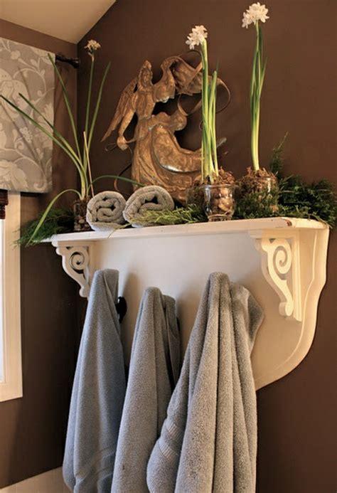 Badezimmer Deko Braun by Badezimmer Design Mit Blumen Und Pflanzen Originelle