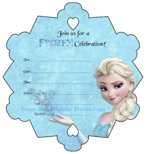 printable elsa invitations frozen party free printables invitations stickers