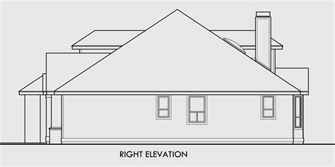 single roof line house plans single roof line house plans