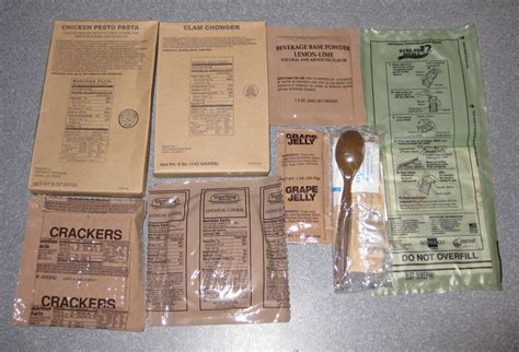 What Is The Shelf Of Mre Meals by Sure Pak Mre S Meals Ready To Eat