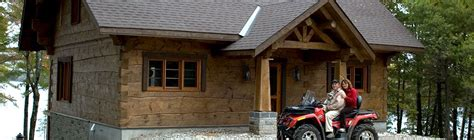 Small Log Cabin Kits Ontario Canada Handcrafted Log Homes And Timberframes By Davidson