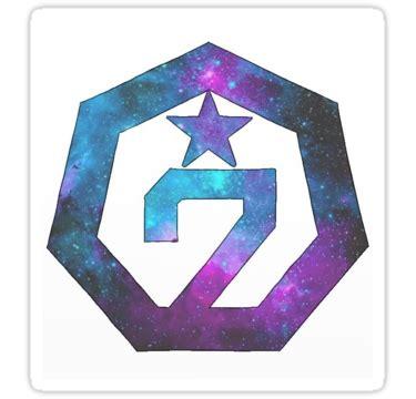 Got7 Notebook Sailor Ver Kpop Notebook quot got7 galaxy logo ver 2 quot stickers by nicki17 redbubble