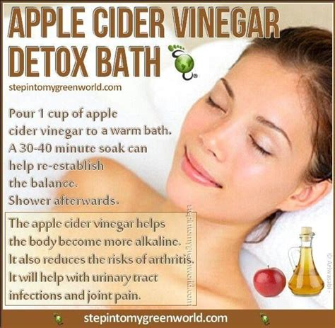 White Vinegar Bath Detox acv for detox bath health detox health