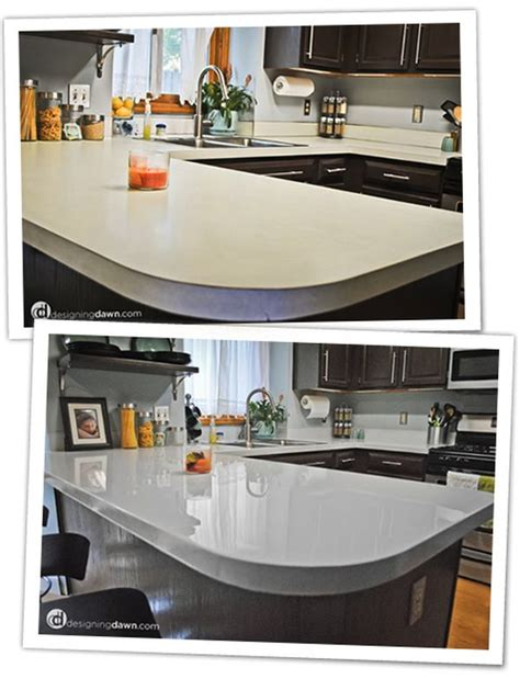 Painted Kitchen Countertops Diy Updates For Your Laminate Countertops Without Replacing Them