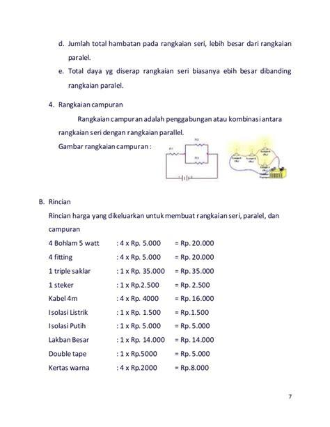 Artikel Membuat Rangkaian Listrik Paralel | makalah rangkaian listrik seri paralel dan curan