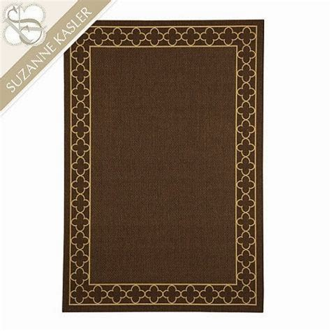 Suzanne Kasler Quatrefoil Border Indoor Outdoor Rug The Italiagal Style Sunday Another Shopping Spree