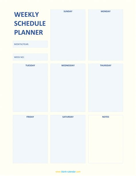 daily planner template libreoffice weekly schedule planner templates word excel pdf