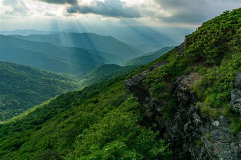 best section of blue ridge parkway blue ridge parkway section 4 hikes