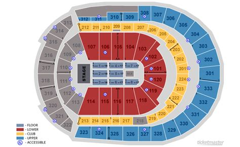 detailed seating chart bridgestone arena nashville tn seating chart bridgestone arena bridgestone arena