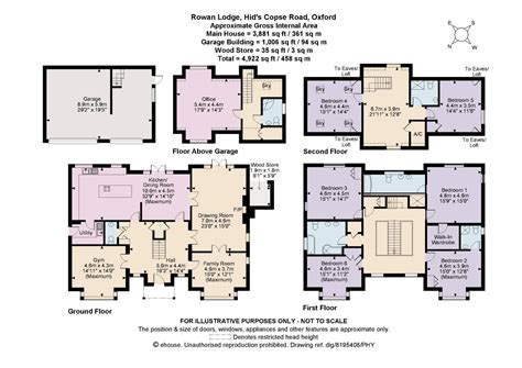 6 bedroom floor plan hids copse road oxford ox2 ref 50527 oxford centre