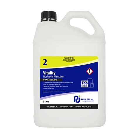commercial bathtub cleaner peerless 5l vitality commercial bathroom cleaner bunnings warehouse