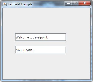 swing textfield java jtextfield learn java