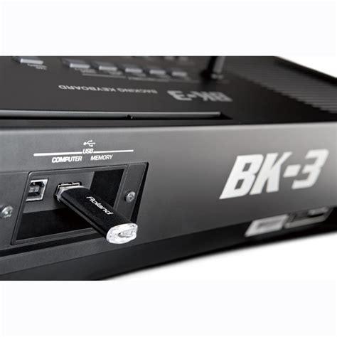 Keyboard Roland Bk 3 Terbaru roland bk 3 compact backing keyboard black at gear4music