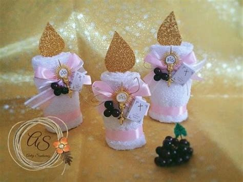 recuerdos para primera comunion en goma buscar con souvenirs vela de toalla para primera comuni 243 n