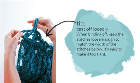 Arm Knitting How To Photo Tutorial Part 3 Binding