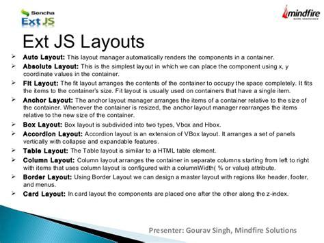 layout manager extjs extjs basic part 1