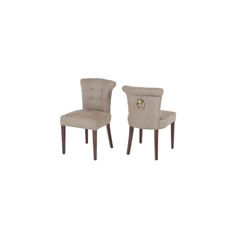 Ring Back Dining Chair Eichholtz Ring Back Dining Chair Linen Swanky Interiors