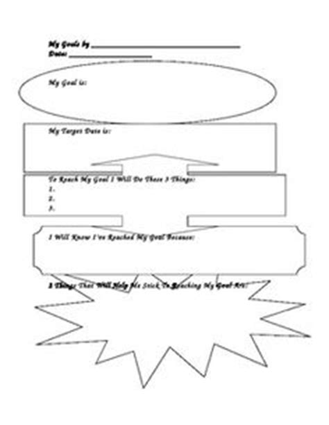 goal setting for middle school students template 17 best images of middle school student goals worksheet