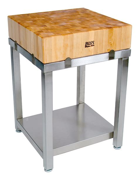 stainless steel butcher block table boos butcher blocks tables carts islands boards