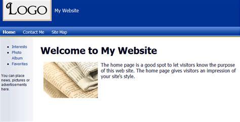 Free Website Builder Templates Website Builder Free Templates