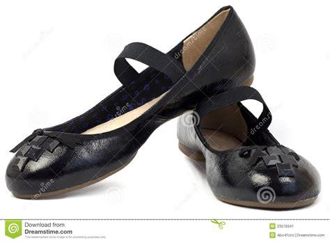 Shoe Unlimited Sr 5003 Black flat black s shoes stock image image of 23578341