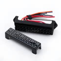 32v 12 way circuit car automotive blade fuse box block holder atc ato wire s2w3 ebay