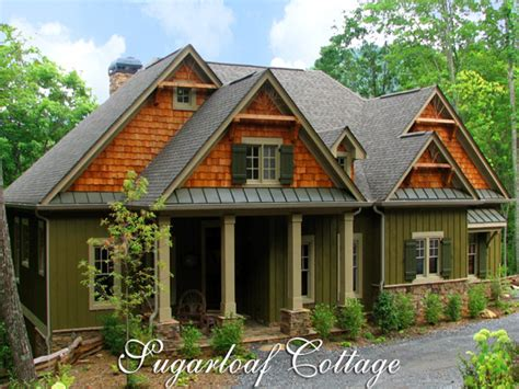 mountain lodge style house plans mountain cottage house