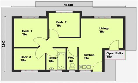 housr plans luxury 3 bedroom house plans 3 bedroom house plan south