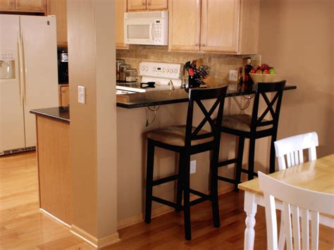 kitchen with bar how to create a raised bar in your kitchen how tos diy