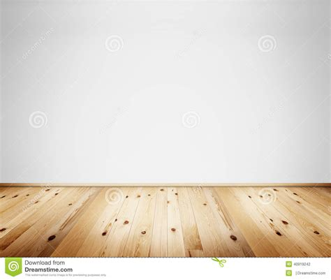 Cottage Floor Plans interior with wall and wooden floor stock illustration