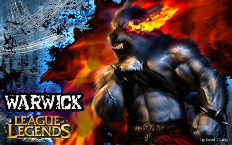 warwick league  legends wallpaper warwick desktop wallpaper